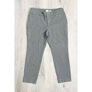 A New Day Grey Stretch Elastizado Ankle Crop Pants
